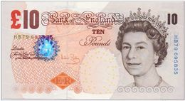 Great Britain 2000,10 Pounds.UNC. - …-1952 : Ante Elizabeth II