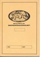 Briefmarken-Auswahlheft Zum Einkleben Von 16 Marken Auf  20 Seiten,  Neu - Matériel