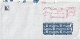 BANCA NAZIONALE DELLE COMUNICAZIONI - Bari - Anno 1993 - Poststempel - Freistempel
