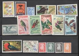 Lot De Timbres Nouvelle Calédonie Thème Oiseaux - Collections, Lots & Series