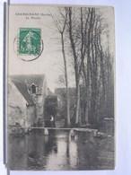 72 - GRANDCHAMP - LE MOULIN - ANIMEE - PECHEUR - 1909 - France