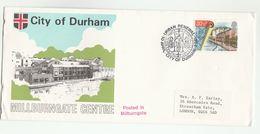 1984 MILLBURNGATE CENTRE City Of DURHAM EVENT COVER Urban Renewal Stamps FDC GB Heraldic Pmk - FDC
