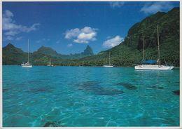Französisch-Polynesien - Tahiti - Beach - Sailingship - Nice Stamp - Französisch-Polynesien
