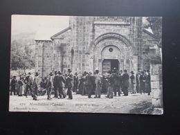 MANDAILLES Sortie De La Messe 1905/20 Animée - France