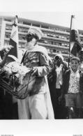 ALGER LES EVENEMENTS DU 13 MAI 1958 - DEVANT LE FORUM, DELEGATION DE BOU-SAADA (patmah 06/13) - Algerien
