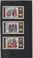 BULGARIE    1970  Y.T. N° 1786  à  1789  Incomplet  Oblitéré - Gebraucht