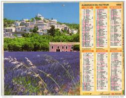 CALENDRIER L ALMANACH DU FACTEUR 1992 - Calendriers