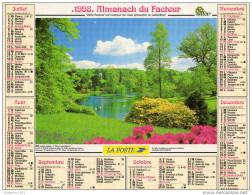 CALENDRIER L ALMANACH DU FACTEUR 1998 - Calendriers