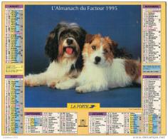 CALENDRIER L ALMANACH DU FACTEUR 1995 - Calendriers
