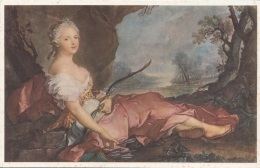 "Maria Adelaide Come ""DIANA"" J.M. Nattier - Galleria Uffizi. Firenze - Paintings"