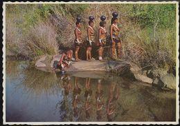 South Africa - Zulu Girls - Nude - Nice Stamp - Südafrika