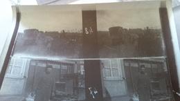 Guerre 14=18 Arrivée à Petite Synthe - Photos Stéréoscopiques