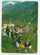 MOGGIO UDINESE - COSTUMI DELLA VAL FELLA    VIAGGIATA FG - Udine