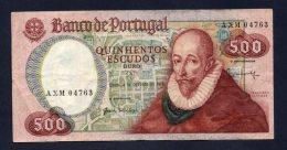 Banconota Portogallo - 500 Scudi 4/10/1979 (circolata) - Portogallo