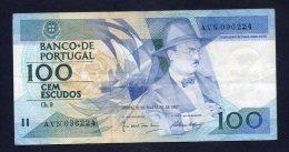 Banconota Portogallo - 100 Scudi 12/2/1987 (circolata) - Portugal