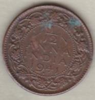 Inde  1/12 Anna 1941 , George VI .Bronze .KM# 527 - India