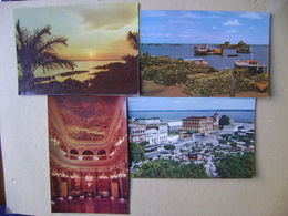 MANAUS / AMAZONAS (BRAZIL) - 9 POSTCARDS IN THE STATE - Manaus