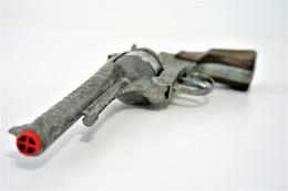 Vintage TOY GUN : GONHER NO. 122 - L=24.5cm - 19??s - Spain - Keywords : Cap Gun - Cork Gun - Rifle - Revolver - Pistol - Armes Neutralisées