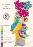 DIRECÇAO GERAL DE MINAS E SEERVIÇS GEOLOGICOS. GEOLOGIA DE PORTUGAL CIRCA 1980's- BLEUP - Portugal