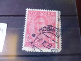 YOUGOSLAVIE   YVERT N° 214 - 1931-1941 Royaume De Yougoslavie