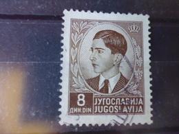 YOUGOSLAVIE   YVERT N° 365 - 1931-1941 Royaume De Yougoslavie