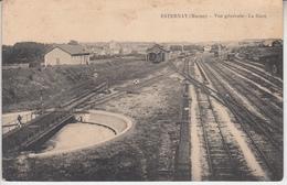 ESTERNAY ( Marne ) - Vue Générale - La Gare  PRIX FIXE - Esternay