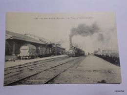 La Gare D'ILLE-Le Train De Vernet Les Bains - Other Municipalities