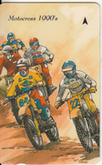 "JERSEY ISL. - 75th Anniversary Of Jersey Motor Club/Motocross 1990""s, CN : 37JERD(normal 0), Tirage %14700, Used - United Kingdom"