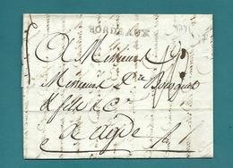 Gironde - Bordeaux Pour Agde. LAC De 1791 - 1701-1800: Precursors XVIII