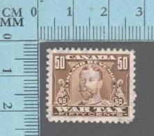 Timbre Fiscaux Canada -FWT16, 50¢, George V  War Tax , 1915-23, Tax Stamp - Fiscaux