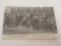 AX- 2400 - 1914-15 - EN HAUTE ALSACE - Fabrication De Fascines Aux Avant-postes - Non Classés
