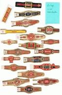 LOT 8/1 :   Lot De 20 Bagues Individuelles Américaines - Cigar Bands