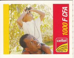 BURKINA FASO - Celtel Mini Prepaid Card 1000 F CFA, Exp.date 12/07, Used - Burkina Faso