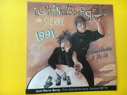 8462 - José-Maria Beroy Prix Spécial Du Jury Festival BD'91 Sierre Johannisberg Rouvinez Suisse - Comics