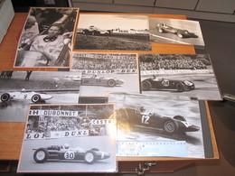 FORMULE 1 - 8 Photos De Voitures Des Années 60 - Cars