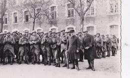 Carte Photo Cpsm:   Groupe De Soldats Du 6ème Régiment Du Génie à Angers - War, Military
