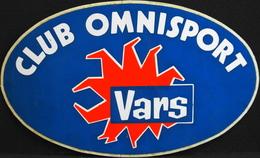 Publicité > Autocollant Pour CLUB OMNISPORT VARS - TBE - Stickers