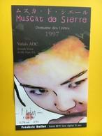8464 - Frédéric Boillet  Festival BD'97 Sierre  Style Japonais Spècial 15 Ans Muscat De Sierre - Comics