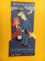 8465 - Anna Sommer  Festival BD'97 Sierre  Prix Humour Oeil De Perdrix - Comics