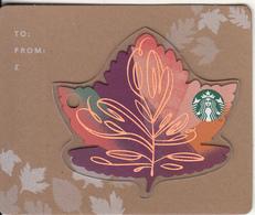UK - Leaves, Starbucks Card, CN : 6143, Unused - Gift Cards