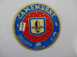 ETIQUETTE FROMAGE  CAMEMBERT A PLONEIS QUIPER - Cheese