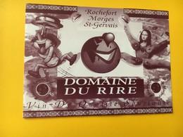 8467 - Domaine Du Rire Rochefort Morges St-Gervais Réserve De Morges Vin De Qualité Souriante - Humour