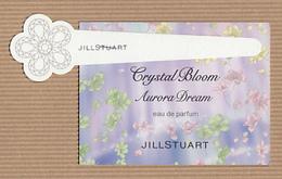 CC Carte Parfumée 'JILL STUART' CRYSTAL DREAM Perfume Card JAPAN 1 EX! - Modern (from 1961)