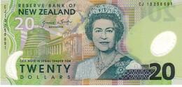 New Zealand P.187b  20 Dollars 2013  Unc - Nuova Zelanda