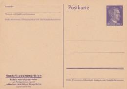 Deutsches Reich  Postkarte 1943 P312/05 - Germany