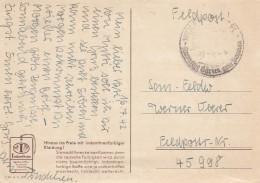 Deutsches Reich Feldpostkarte 1942 - Ohne Zuordnung