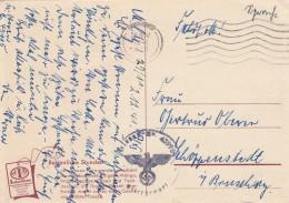 Deutsches Reich Feldpostkarte 1941 - Ohne Zuordnung
