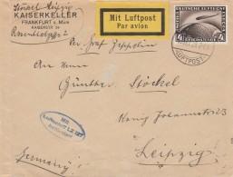 Deutsches Reich Zeppelin Brief 1928 Lz 127 - Germany
