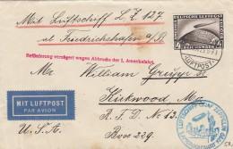 Deutsches Reich Zeppelin Brief 1929 1. Amerikafahrt - Germany