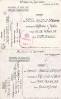 GB  2 POW Postkarten 45 Und 46 - Germany